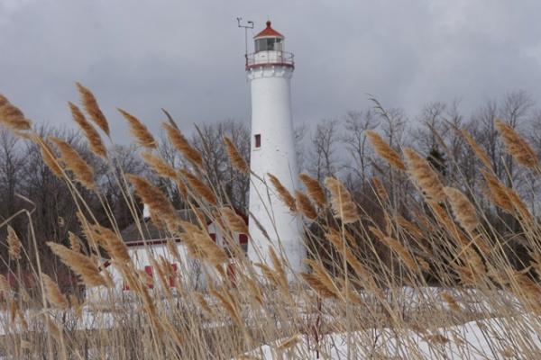 <b>Lighthouse, Lake Huron</b> <br/> Lighthouse, Lake Huron