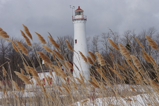 <b>Lighthouse, Lake Huron</b> <br/> Lighthouse, Lake Huron